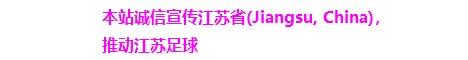 本站诚信宣传江苏省(Jiangsu Province, China),推动江苏足球